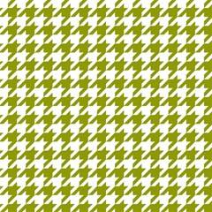 Houndstooth Green Magic Photo Cubes