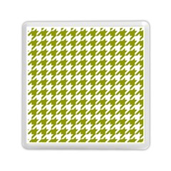 Houndstooth Green Memory Card Reader (Square)