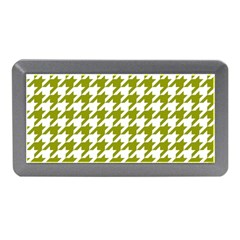 Houndstooth Green Memory Card Reader (Mini)