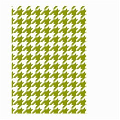 Houndstooth Green Small Garden Flag (two Sides)