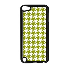 Houndstooth Green Apple iPod Touch 5 Case (Black)