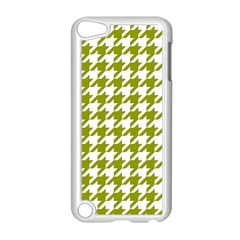 Houndstooth Green Apple iPod Touch 5 Case (White)