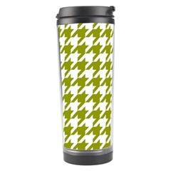 Houndstooth Green Travel Tumblers