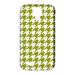 Houndstooth Green Samsung Galaxy S4 Classic Hardshell Case (PC+Silicone)