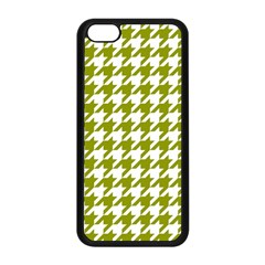 Houndstooth Green Apple iPhone 5C Seamless Case (Black)