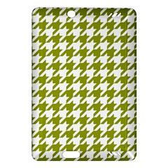 Houndstooth Green Kindle Fire HD (2013) Hardshell Case