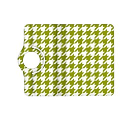 Houndstooth Green Kindle Fire Hd (2013) Flip 360 Case