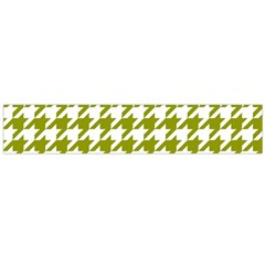 Houndstooth Green Flano Scarf (Large)