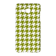 Houndstooth Green Samsung Galaxy A5 Hardshell Case