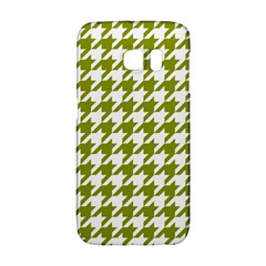 Houndstooth Green Galaxy S6 Edge