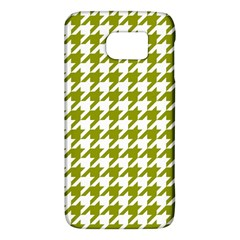 Houndstooth Green Galaxy S6