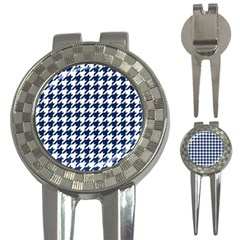 Houndstooth Midnight 3-in-1 Golf Divots
