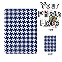 Houndstooth Midnight Multi-purpose Cards (Rectangle)