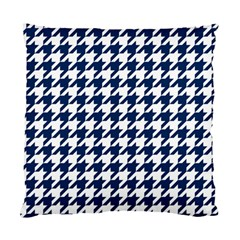 Houndstooth Midnight Standard Cushion Case (One Side)