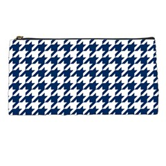 Houndstooth Midnight Pencil Cases