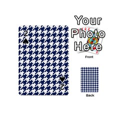 Houndstooth Midnight Playing Cards 54 (mini)
