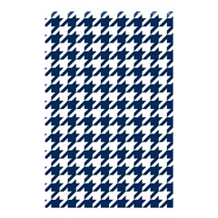 Houndstooth Midnight Shower Curtain 48  x 72  (Small)
