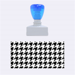 Houndstooth Midnight Rubber Stamps (medium)