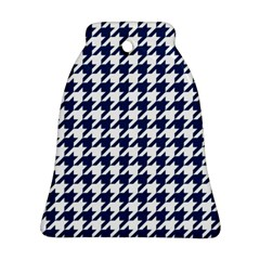Houndstooth Midnight Ornament (Bell)