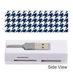 Houndstooth Midnight Memory Card Reader (Stick)
