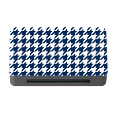 Houndstooth Midnight Memory Card Reader with CF