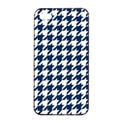 Houndstooth Midnight Apple iPhone 4/4s Seamless Case (Black)