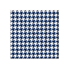 Houndstooth Midnight Acrylic Tangram Puzzle (4  x 4 )