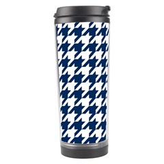 Houndstooth Midnight Travel Tumblers