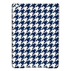 Houndstooth Midnight iPad Air Hardshell Cases