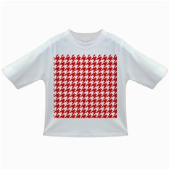 Houndstooth Red Infant/Toddler T-Shirts