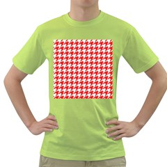 Houndstooth Red Green T-Shirt