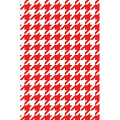 Houndstooth Red 5 5  X 8 5  Notebooks