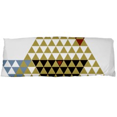 Colorful Modern Geometric Triangles Pattern Body Pillow Cases Dakimakura (two Sides)