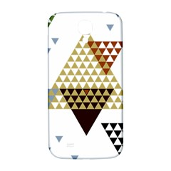 Colorful Modern Geometric Triangles Pattern Samsung Galaxy S4 I9500/I9505  Hardshell Back Case
