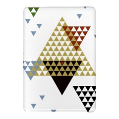 Colorful Modern Geometric Triangles Pattern Samsung Galaxy Tab Pro 12.2 Hardshell Case