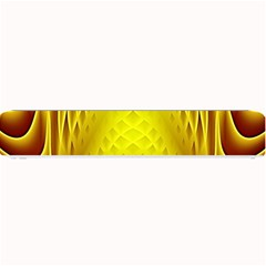 Swirling Dreams Yellow Small Bar Mats