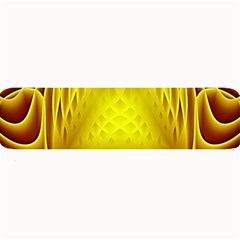 Swirling Dreams Yellow Large Bar Mats