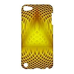 Swirling Dreams Yellow Apple iPod Touch 5 Hardshell Case