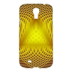 Swirling Dreams Yellow Samsung Galaxy S4 I9500/I9505 Hardshell Case