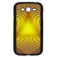 Swirling Dreams Yellow Samsung Galaxy Grand DUOS I9082 Case (Black)