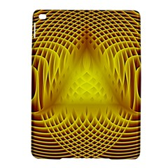 Swirling Dreams Yellow iPad Air 2 Hardshell Cases