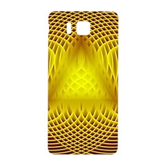 Swirling Dreams Yellow Samsung Galaxy Alpha Hardshell Back Case