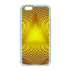 Swirling Dreams Yellow Apple Seamless iPhone 6/6S Case (Color)