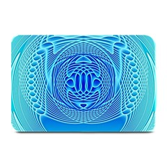 Swirling Dreams, Aqua Plate Mats
