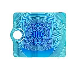 Swirling Dreams, Aqua Kindle Fire HDX 8.9  Flip 360 Case