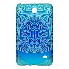 Swirling Dreams, Aqua Samsung Galaxy Tab 4 (7 ) Hardshell Case