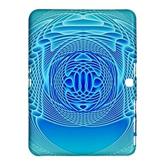 Swirling Dreams, Aqua Samsung Galaxy Tab 4 (10.1 ) Hardshell Case