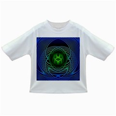 Swirling Dreams, Blue Green Infant/Toddler T-Shirts