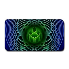 Swirling Dreams, Blue Green Medium Bar Mats