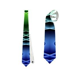 Swirling Dreams, Blue Green Neckties (One Side)